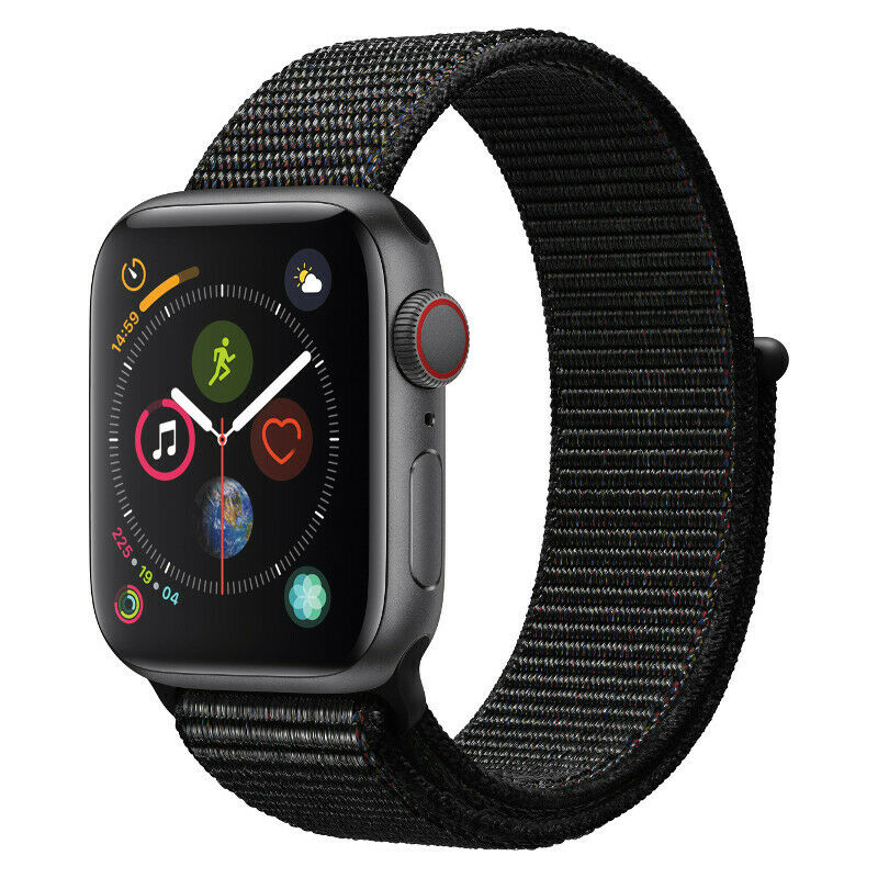 Купить Apple Watch Series 4 44mm Space Gray / Black loop в Ростове-на-Дону