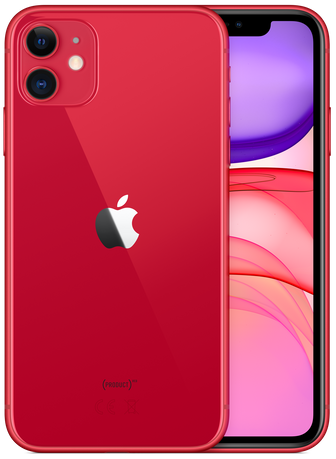 Купить Apple iPhone 11 64 Gb Red (Ростест) в Ростове-на-Дону