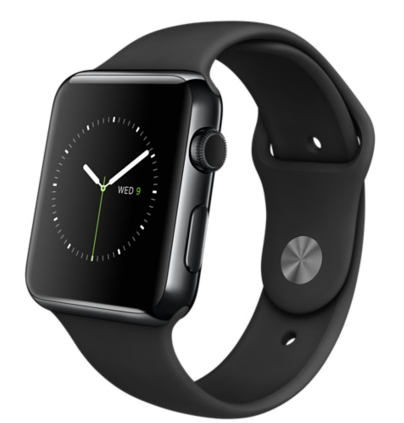 Купить Apple Watch 42mm Space Black Steel Case with Black Sport Band в Ростове-на-Дону
